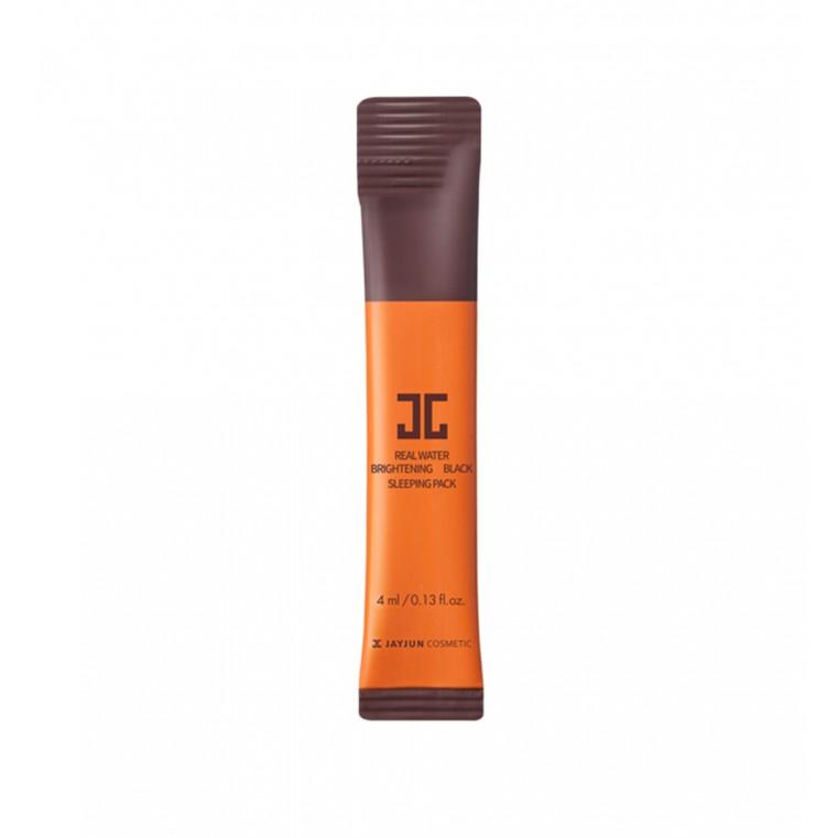 Jayjun Real Water Brightening Black Sleeping Pack Увлажняющая и осветляющая ночная маска