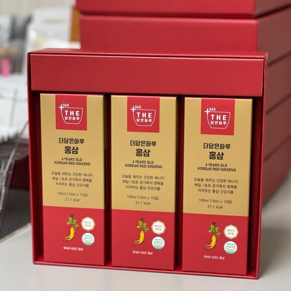 Joylife the Dam-Eun Halu 6 Year Old Korean Red Ginseng Сироп с экстрактом красного женьшеня