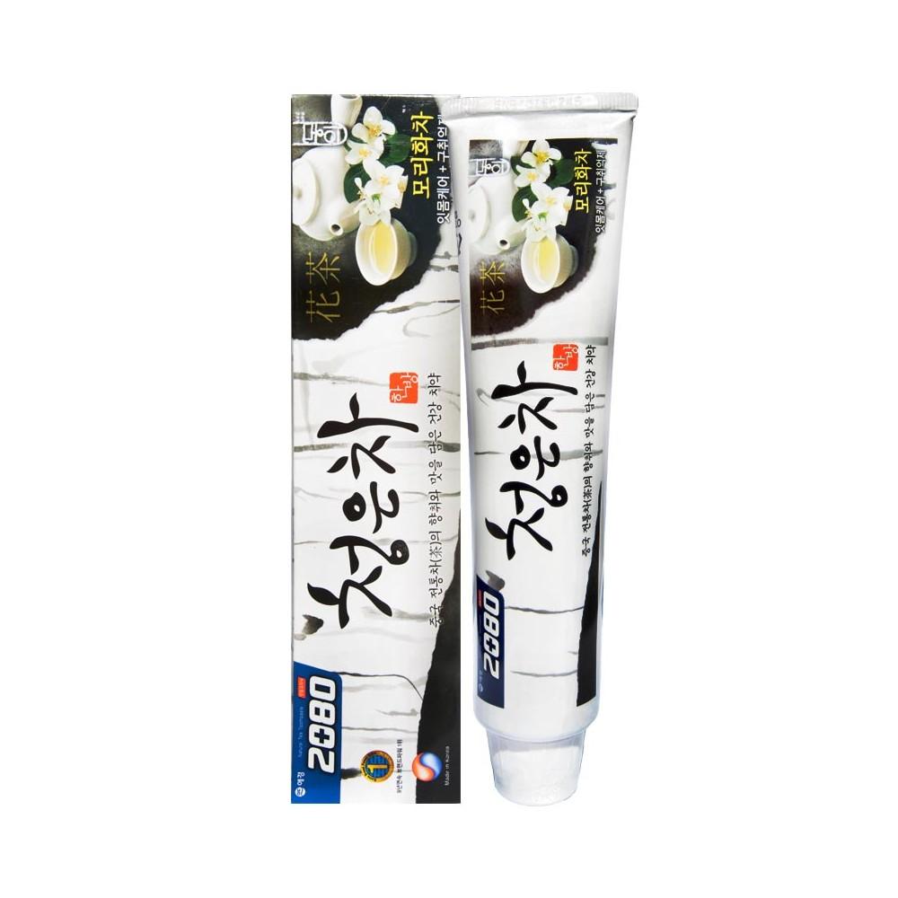 Aekyung Dental Clinic 2080 Cheong-en-cha Зубная паста Восточный чай Жасмин, вкус мяты и жасмина