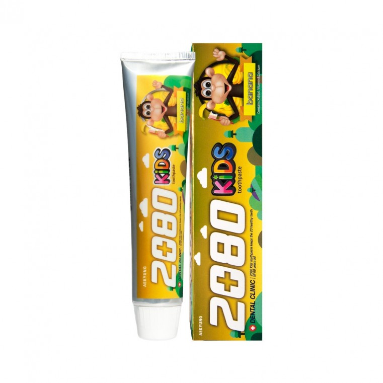 Aekyung Dental Clinic 2080 KIDS Banana Зубная паста Детская Банановая