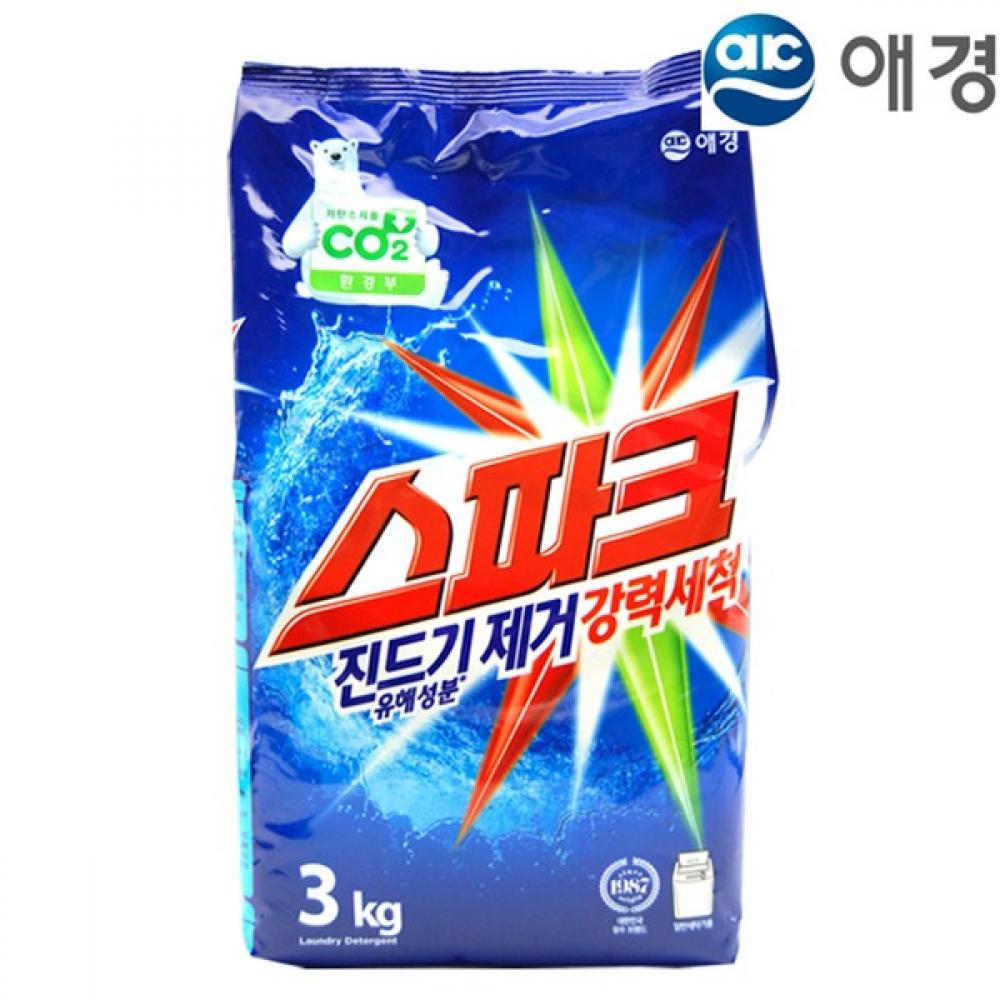 Spark Laundry Detergent Концентрированный безфосфатный стиральный порошок СПАРК 3kg