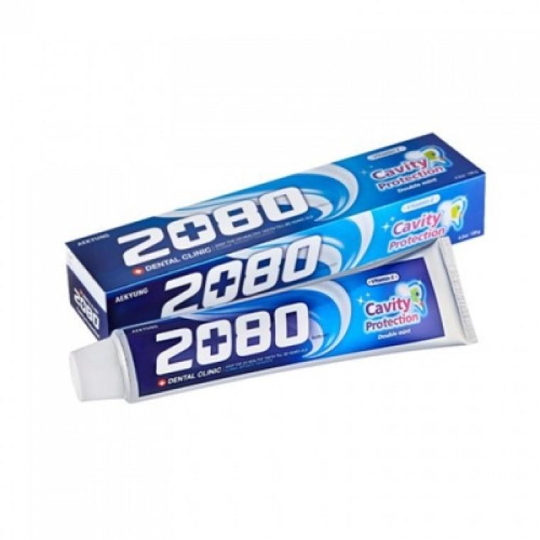 Dental Clinic 2080 Cavity Protection Tooth Paste Зубная паста натуральная мята