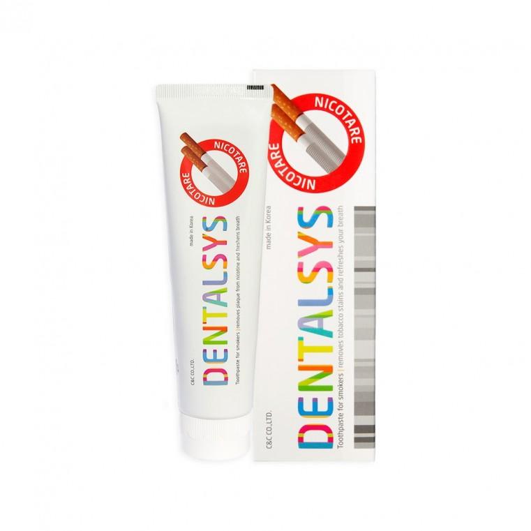 Dental Clinic 2080 Dentalsys Nicotare Toothpaste Зубная паста для курильщиков