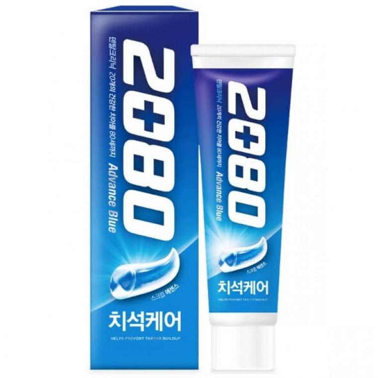 Dental Clinic 2080 Advance Blue Tooth Paste Зубная паста Эдванс Защита от кариеса