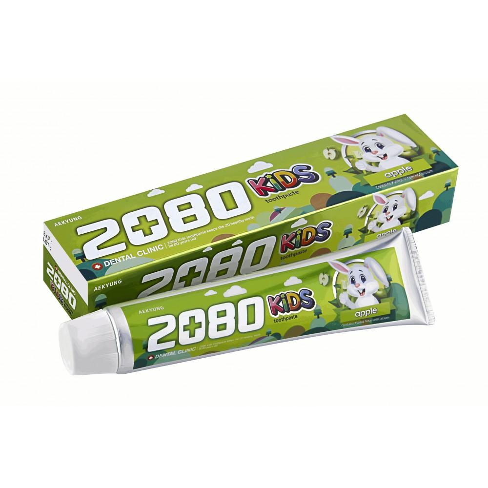 DC 2080 Kids Apple Tooth paste Зубная паста DC 2080 ДЕТСКАЯ ЯБЛОЧНАЯ