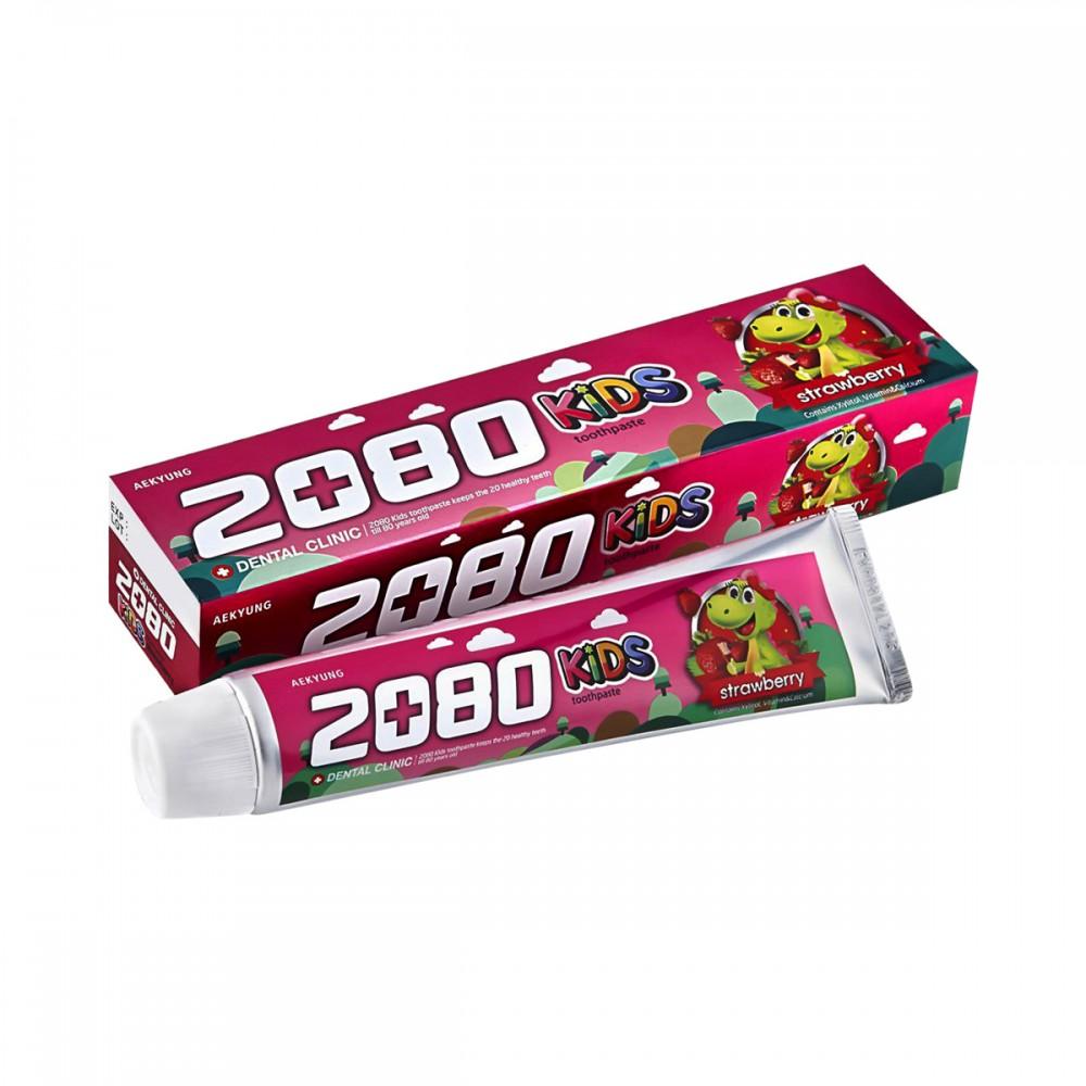 Dental Clinic 2080 Kids Strawberry Tooth paste Зубная паста DC 2080 ДЕТСКАЯ КЛУБНИЧНАЯ