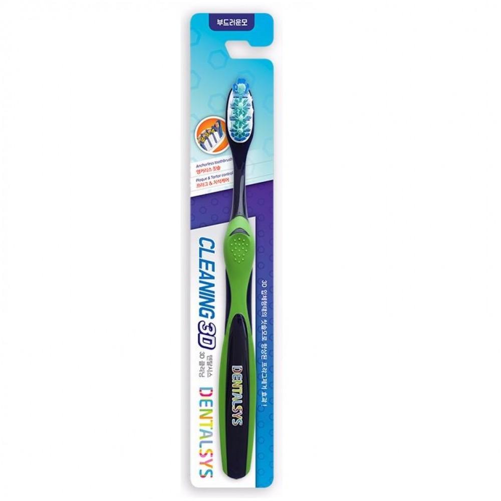 Aekyung Kerasys DENTALSYS Cleaning 3D Зубная щетка Очищение 3D