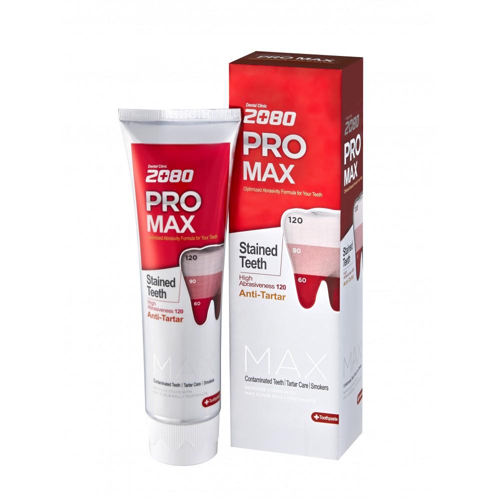 Dental Clinic 2080 PRO-Max Tooth Paste Зубная паста Максимальная защита