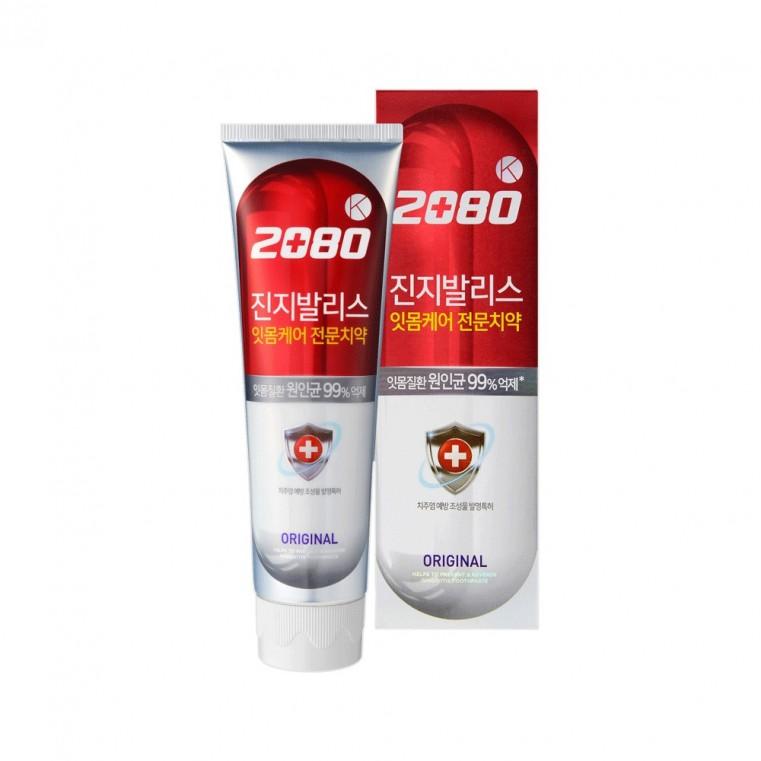 Dental Clinic 2080 K Original Toothpaste Зубная паста антибактериальная с экстрактом гинкго Розовая