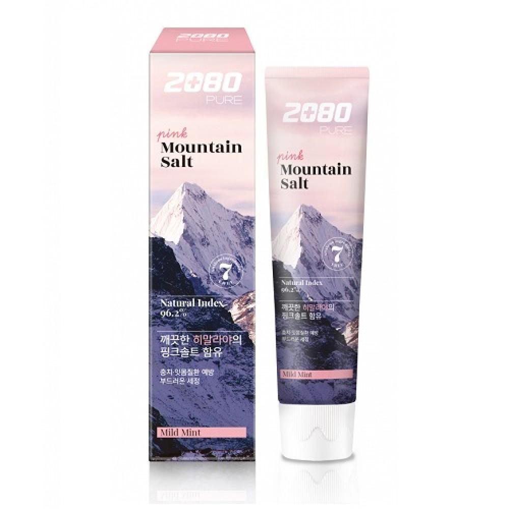 Aekyung Dental Clinic 2080 Pure Mountain Salt Mild Mint Зубная паста Розовая гималайская соль