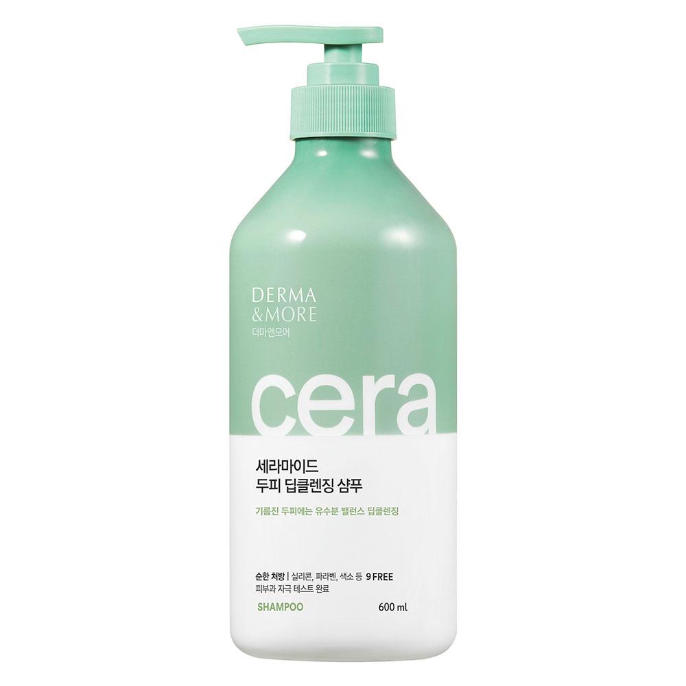 Kerasys Derma & More Ceramide Deep Cleansing Shampoo Шампунь для глубокого очищения с церамидами