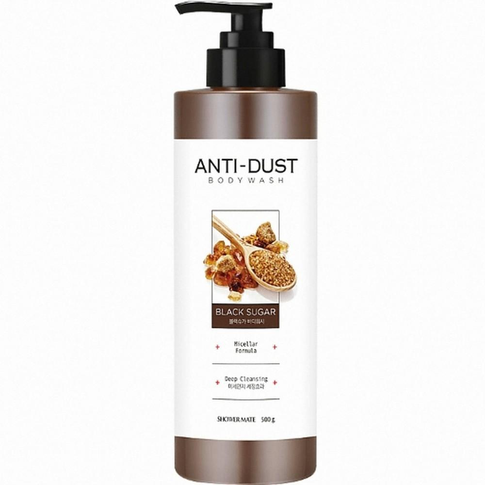 Aekyung Shower Mate Anti-Dust Black Sugar Гель для душа с чёрным сахаром для глубокого очищения