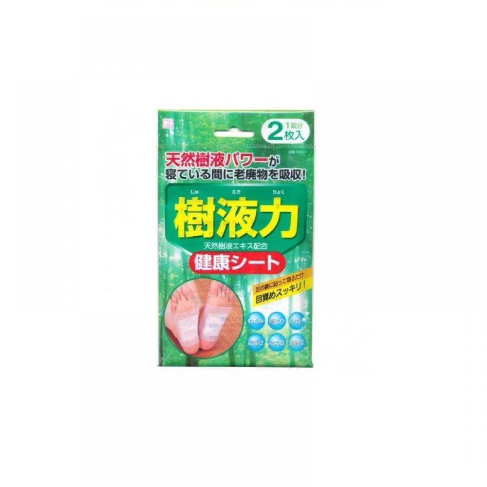 Kokubo Шлаковыводящий пластырь экстрактом японского дуба, расслабляющий