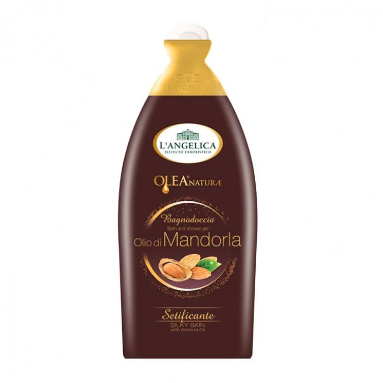 L'ANGELICA Bagnodoccia Bath and Shower Gel Olio Bio di Mandoria Гель для душа и ванны с миндальным маслом «Шелковистая кожа»