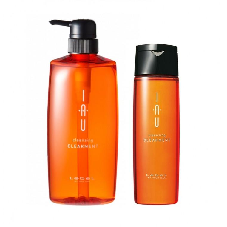 Lebel IAU cleansing CLEARMENT Арома-шампунь для нормальной кожи головы
