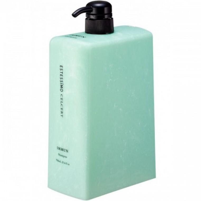 Lebel ESTESSIMO CELCERT Iimmun Shampoo Шампунь для чувствительной кожи головы восстанавливающий, 750мл