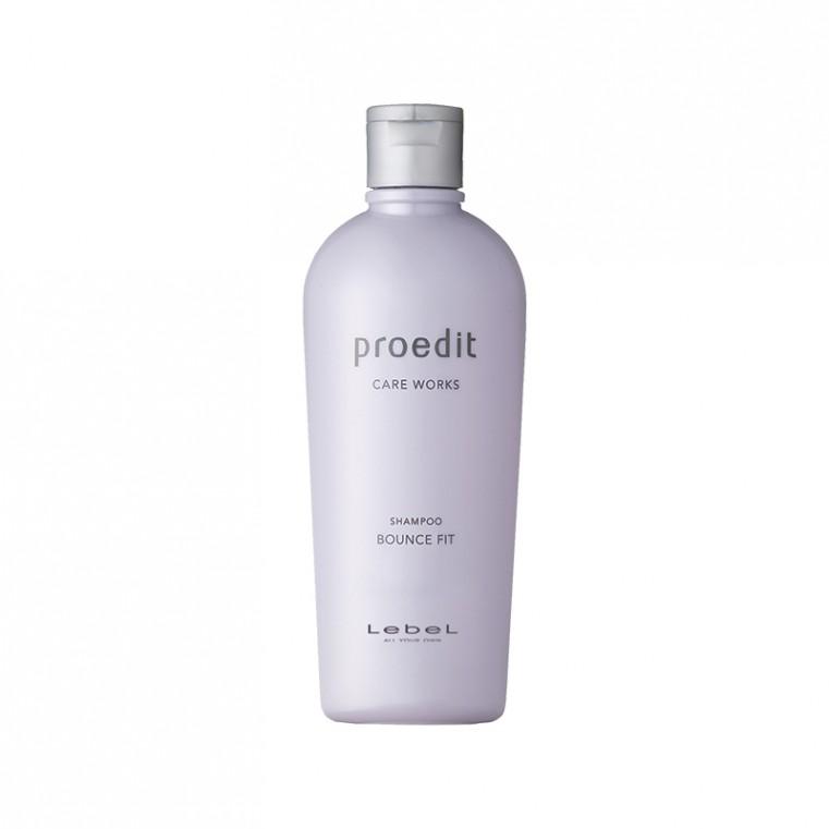 Lebel Proedit Shampoo Bounce Fit Восстанавливающий шампунь для сухих, поврежденных волос