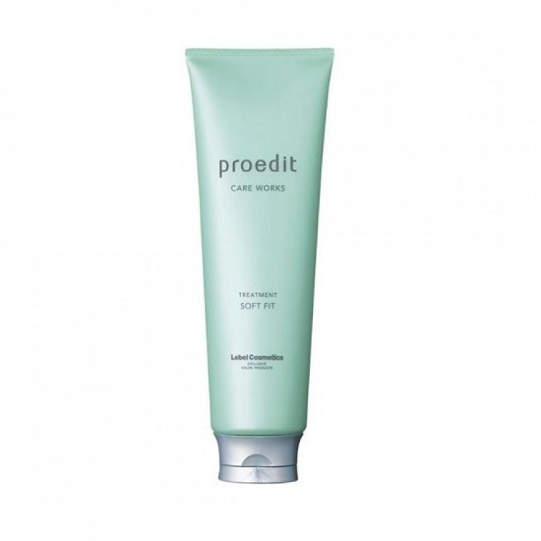 Lebel Proedit Hair Treatment Soft Fit Увлажняющая маска сухих и жестких волос