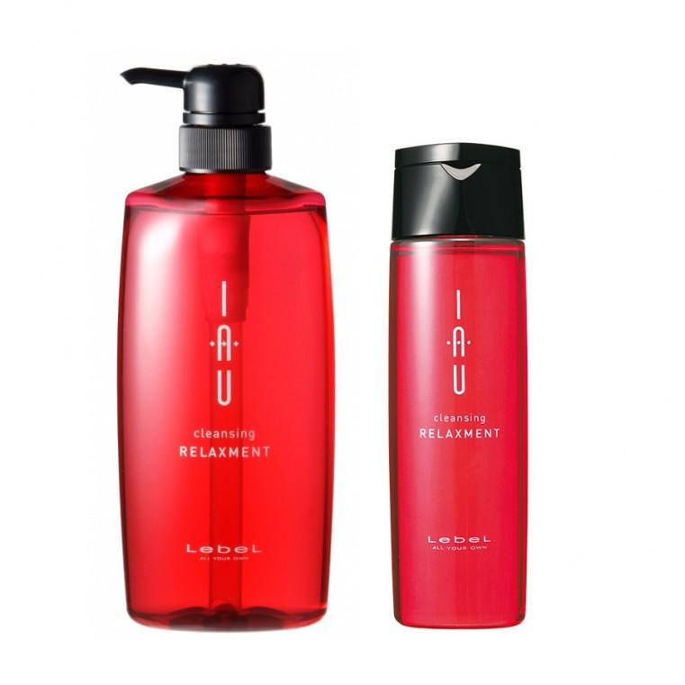 Lebel IAU Cleansing RELAXMENT Арома-шампунь для сухой кожи головы