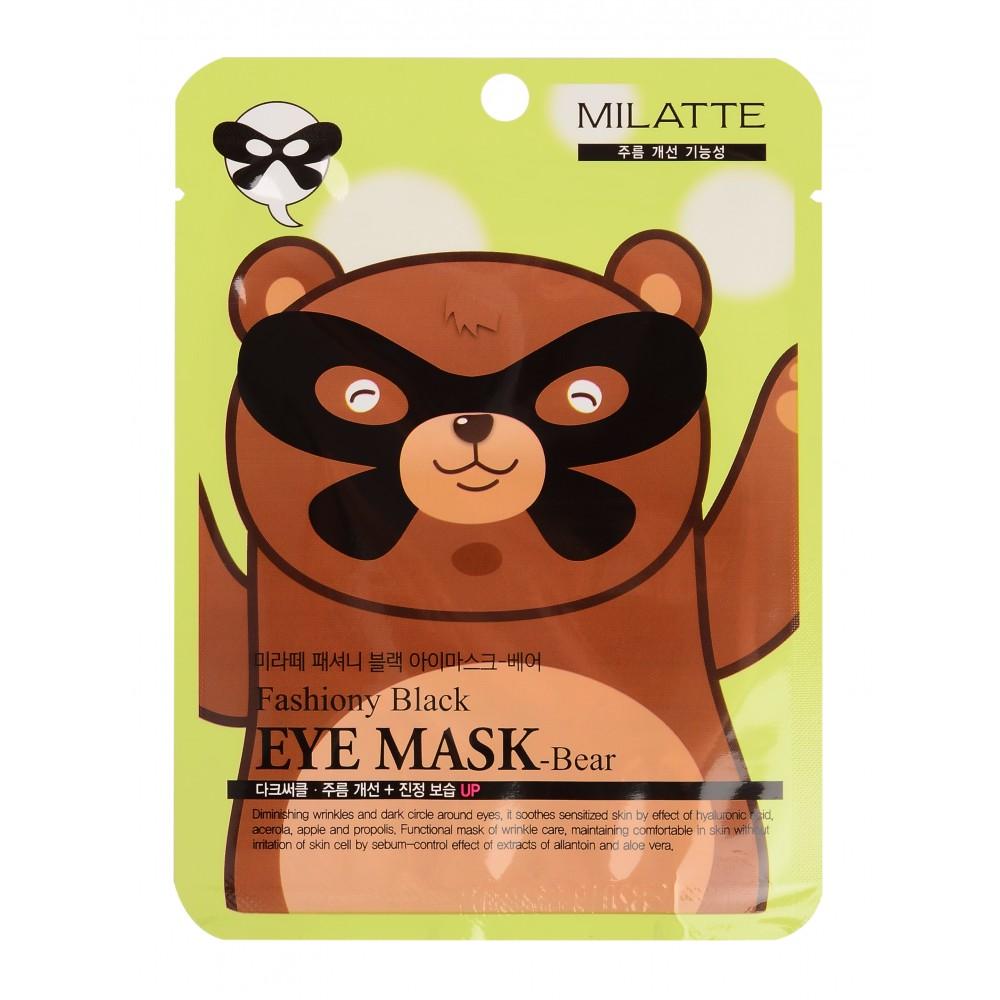 Fashiony Black Eye Mask Маска для кожи вокруг глаз - мишка