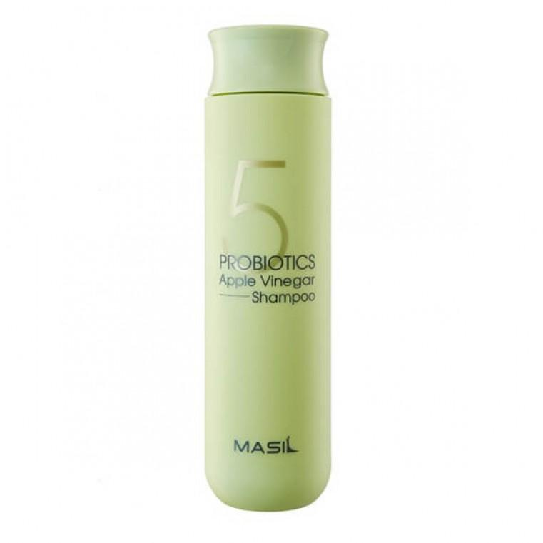 Masil 5 Probiotics Apple Vinergar Shampoo Шампунь от перхоти с яблочным уксусом