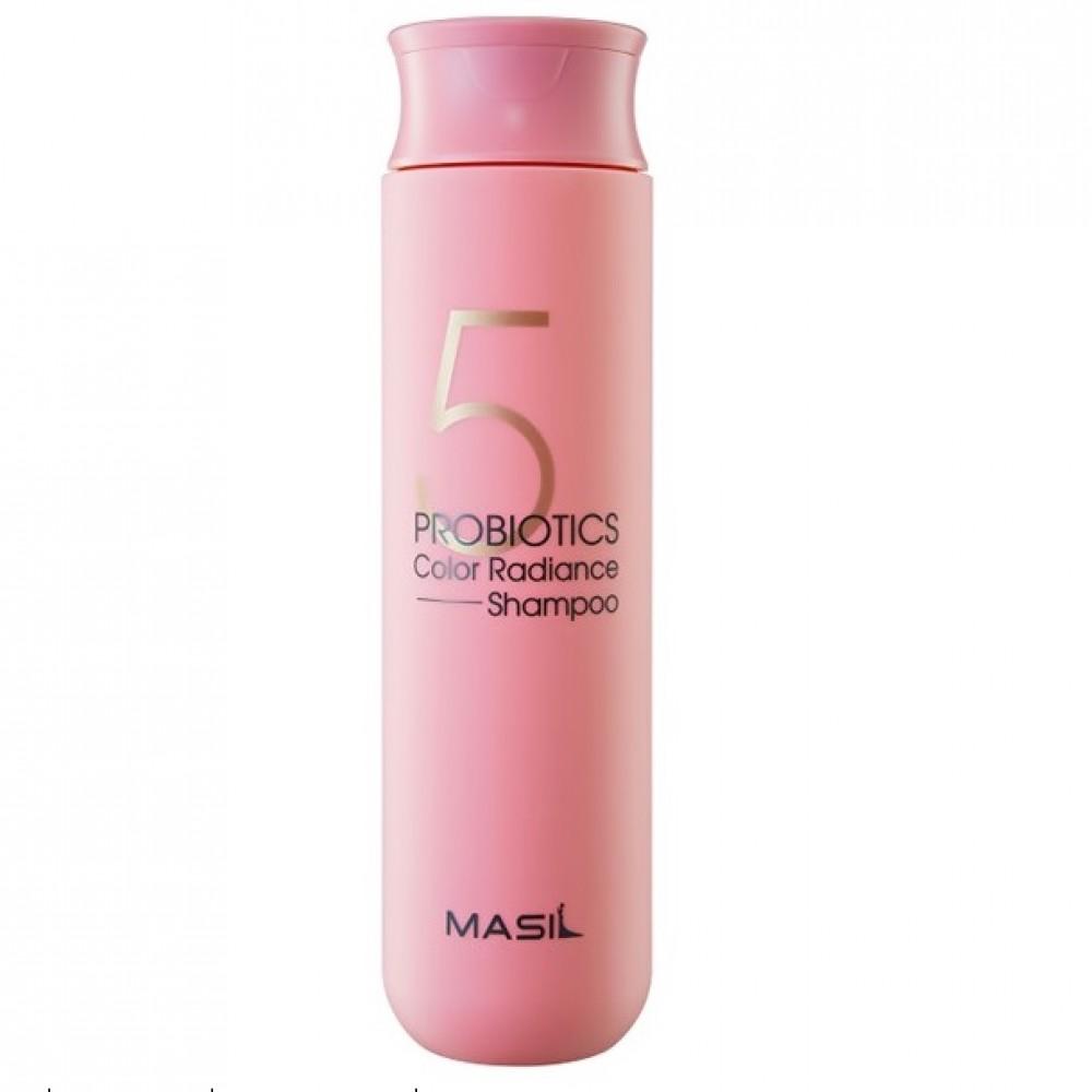 Masil 5 Probiotics Color Radiance Shampoo Шампунь с пробиотиками для защиты цвета