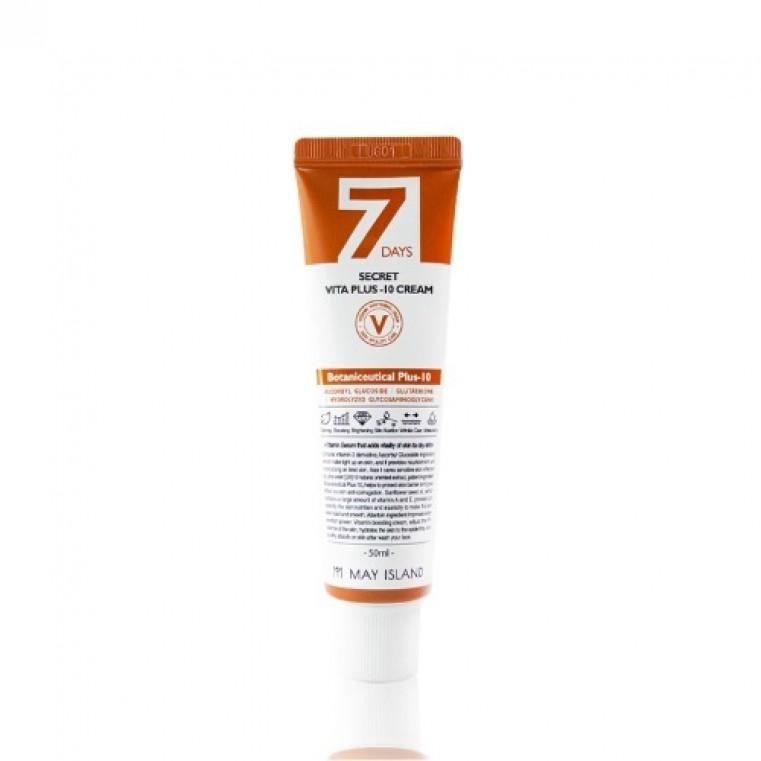 MAY ISLAND 7 Days Secret Vita Plus-10 Cream Витаминизированный крем