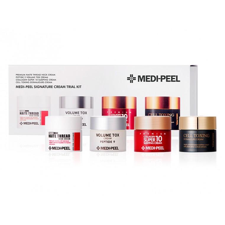 Medi-Peel Signature Cream Trial Kit [Mini Set] Набор миниатюр кремов