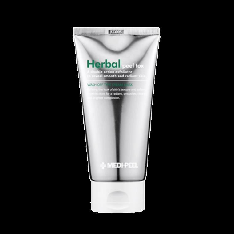 Herbal Peel Tox Wash Off Type Cream Mask Очищающая пилинг-маска с эффектом детокса
