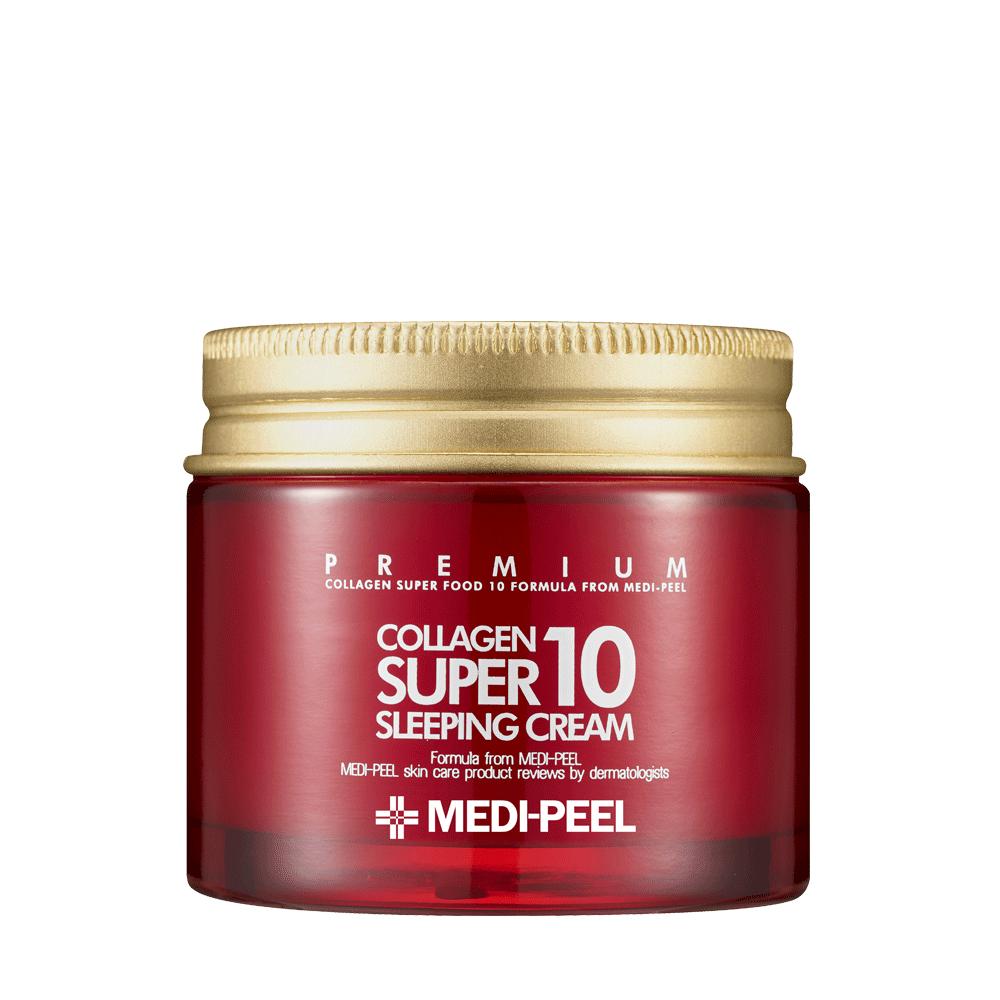 MEDI-PEEL Collagen Super10 Sleeping Cream Омолаживающий ночной крем для лица с коллагеном