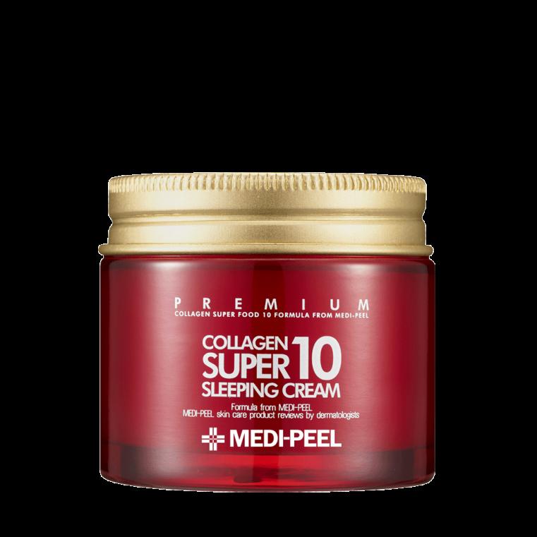 Collagen Super10 Sleeping Cream Омолаживающий ночной крем для лица с коллагеном