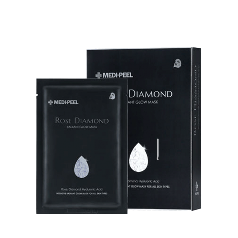 Rose Diamond Mask Маска с алмазной пудрой для сияния кожи