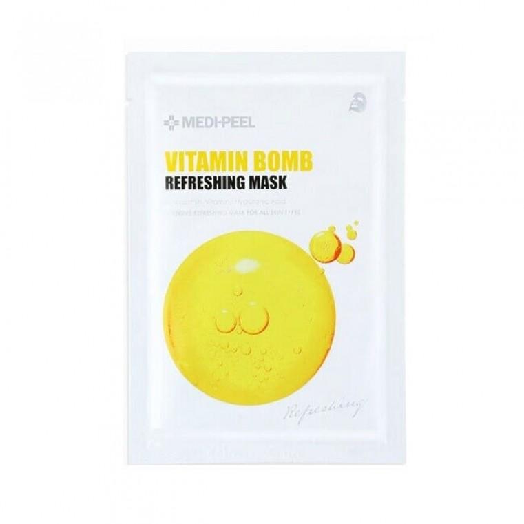 MEDI-PEEL Vitamin Bomb Освежающая маска с витаминным комплексом