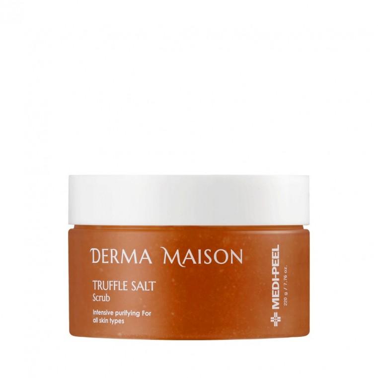 MEDI-PEEL Derma Maison Truffle Salt Scrub Гоммаж для лица с трюфельной солью