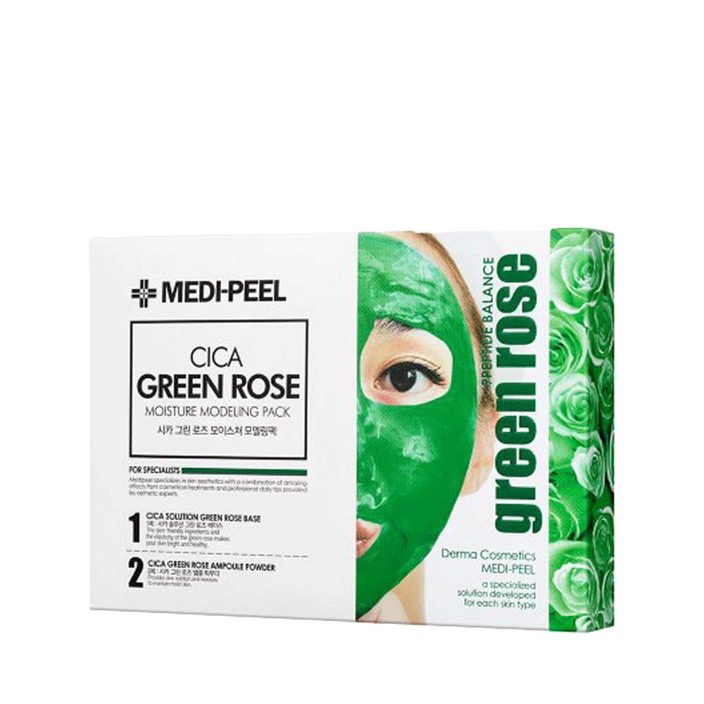 MEDI-PEEL Cica Green Rose Modeling Pack Набор из 4 альгинатных масок с центеллой