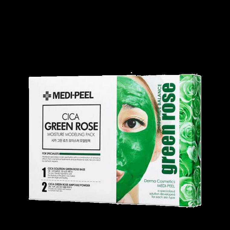 Cica Green Rose Modeling Pack Набор из 4 альгинатных масок с центеллой