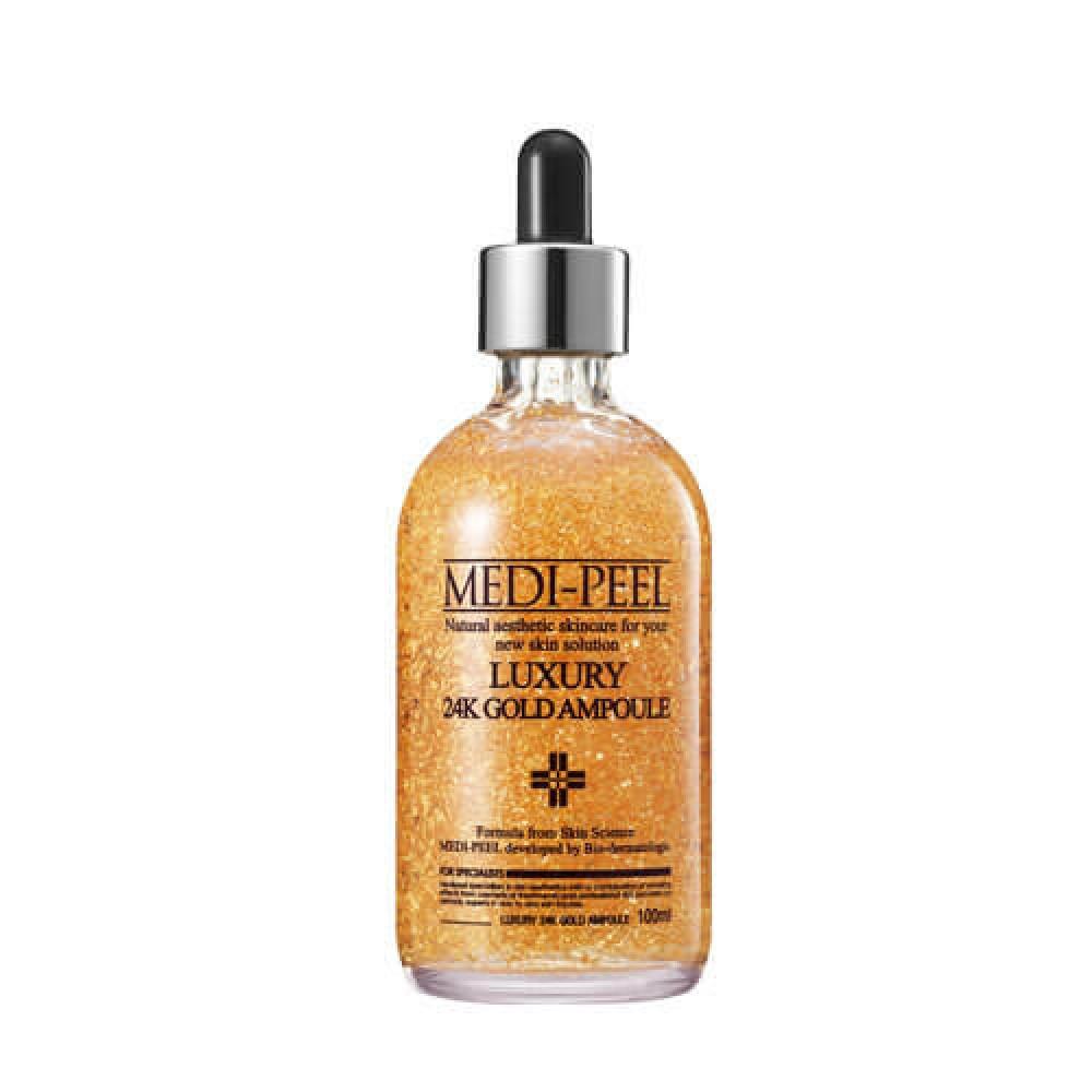Medi-Peel Luxury 24K Gold Ampoule Ампульная сыворотка с золотом 24К для эластичности кожи