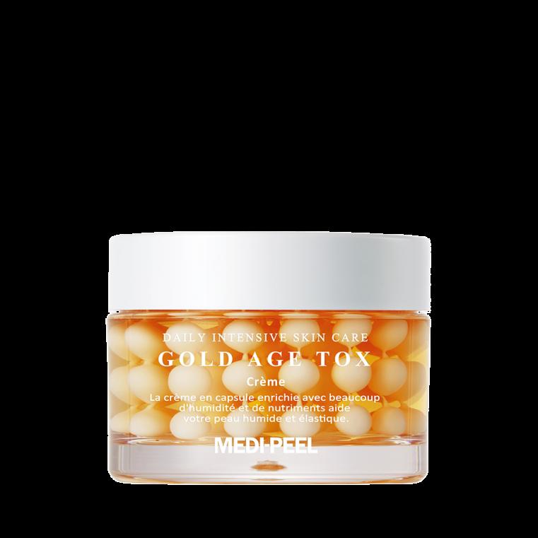 Medi-Peel Gold Age Tox Cream Антивозрастной капсульный крем с экстрактом золотого шелкопряда