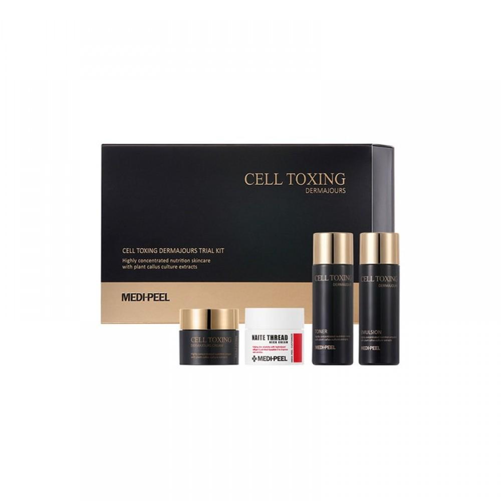 MEDI-PEEL Cell Toxing Dermajours Trial Kit Мини-сет из серии со стволовыми клетками для обновления и восстановления кожи