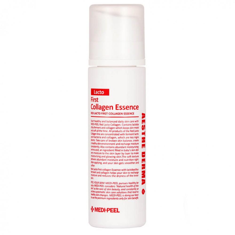 Medi-Peel Red Lacto First Collagen Essence Кислородная эссенция с лактобактериями
