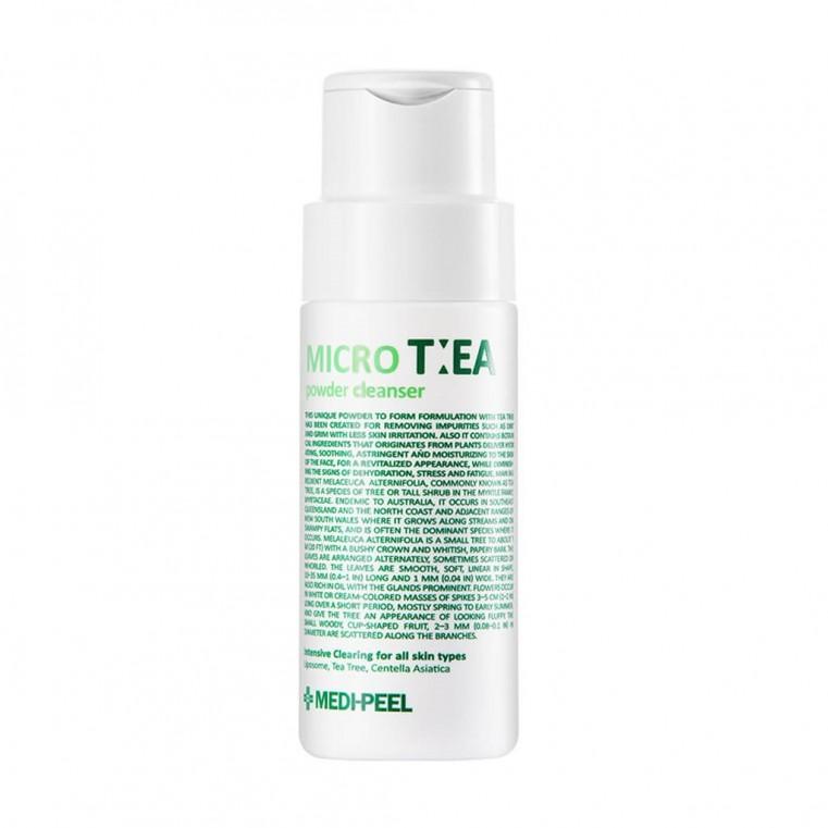 Medi-Peel Micro Tea Powder Cleanser Глубоко очищающая энзимная пудра с чайным деревом