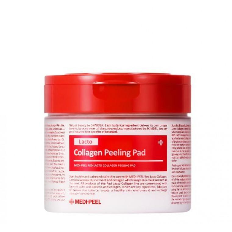 MEDI-PEEL Red Lacto Collagen Peeling Pad Пилинг-пэды с лактобактериями