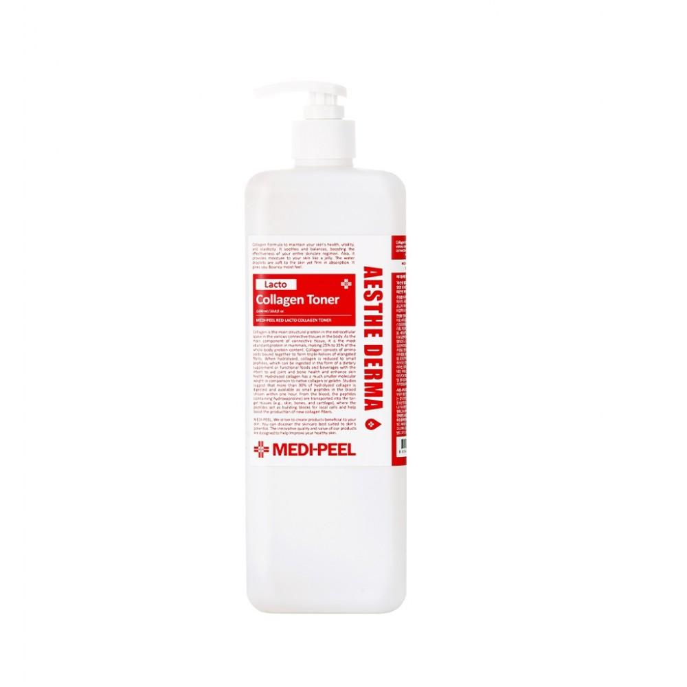 MEDI-PEEL Red Lacto Collagen Toner Восстанавливающий тонер с пробиотиками и коллагеном