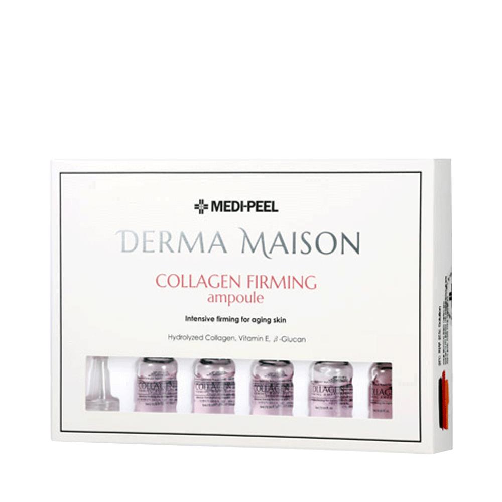 MEDI-PEEL Derma Maison Collagen Firming Ampoule Ампульная сыворотка с коллагеном, витамином Е и Бета-глюканом (5ml*10)
