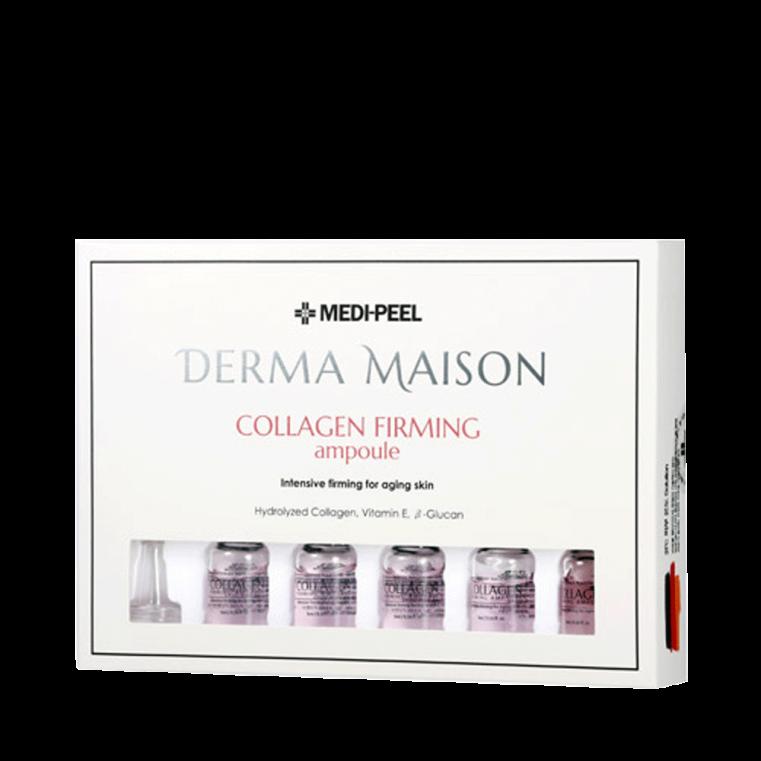 Derma Maison Collagen Firming Ampoule Апмульная сыворотка с коллагеном, витамином Е и Бета-глюканом (5ml*10)