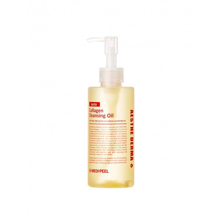 Medi-Peel Red Lacto Collagen Cleansing Oil Гидрофильное масло с лактобактериями