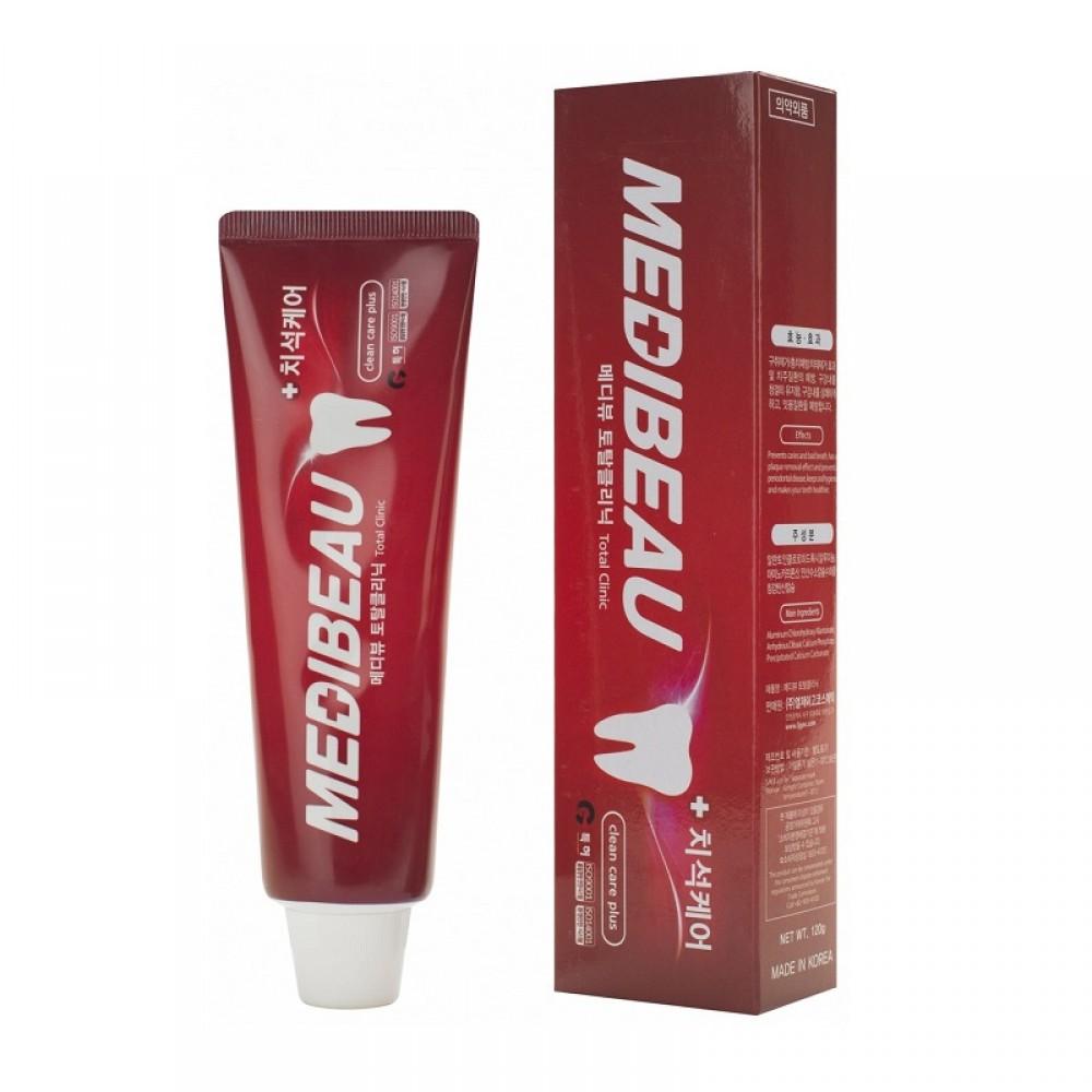Medibeau Total Clinic Toothpaste Зубная паста для комплексного ухода за полостью рта