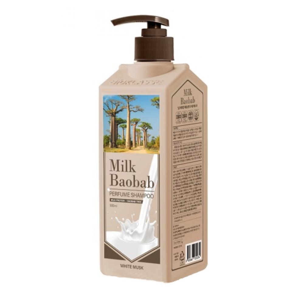 MilkBaobab Shampoo White Musk Шампунь для волос с ароматом белого мускуса