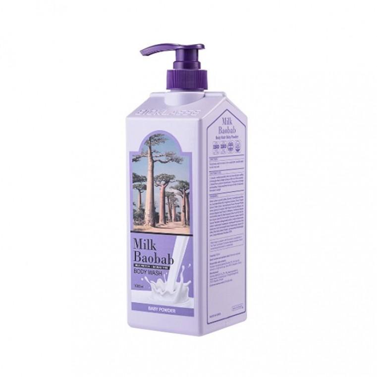 MILK BAOBAB Body Wash Baby Powder Гель для душа с ароматом детской присыпки