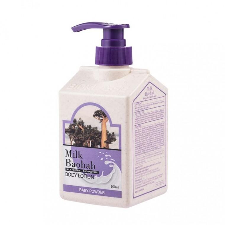 MILK BAOBAB Body Lotion Baby Powder Лосьон для тела с ароматом детской присыпки